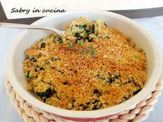 Crumble di zucchine - Sabry in cucina