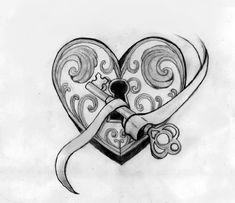key tattoo  | Stephanie Janes Portfolio - Pinkplasticpony