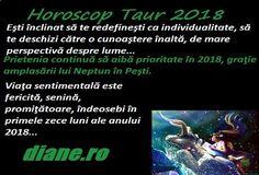 Horoscop Taur 2018