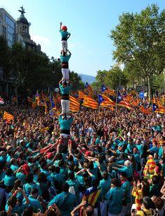 La Diada, en imágenes   Fotogalería   Madrid   EL PAÍS