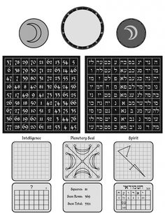 Magic Square: Moon