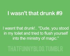 I think we have all had those drunk moments. In my case I decided I wanted to go to New Zealand and look for hobbits.