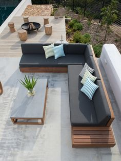 Their imported ranges have also been carefully selected to complement their local range and give clients a bigger variety to choose from without compromising on quality. Outdoor Furniture Plans, Diy Garden Furniture, Timber Furniture, Deck Furniture, Furniture Decor, Diy Exterior Furniture, Out Door Furniture, Backyard Seating, Garden Seating