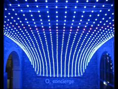 Pulsating LED screen