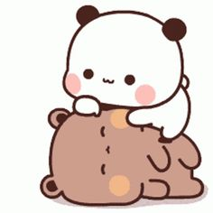Cute Anime Cat, Cute Bunny Cartoon, Cute Kawaii Animals, Cute Cartoon Pictures, Cute Love Pictures, Cute Love Cartoons, Cute Cat Gif, Cute Bear Drawings, Cute Little Drawings