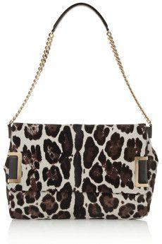 Jimmy Choo Ally leopard-print calf hair shoulder bag | NET-A-PORTER