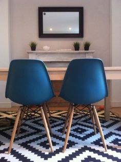 Ocean Eames DSW Chairs