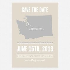 Wedding Save the Date Printable PDF  Place to Be by lovevsdesign, $100.00