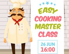 """Check out new work on my @Behance portfolio: """"Cooking Macter class"""" http://be.net/gallery/45978403/Cooking-Macter-class"""