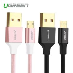Ugreen Reversible Micro USB Cable Tangle-free USB to Double Sided Data Sync USB Charger Cable for Samsung HTC LG Sony Android Price: 4.32 USD