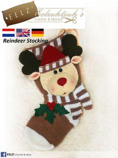 Ehi, ho trovato questa fantastica inserzione di Etsy su https://www.etsy.com/it/listing/262562944/calza-di-natale-renna-crochet-pattern