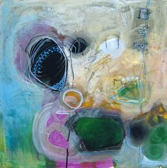Little Abstract...12x12 inch...judy thorley