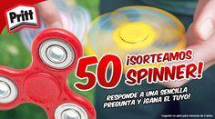Responde a la pregunta y gana uno de los 50 Fidget Spinner que sorteamos.