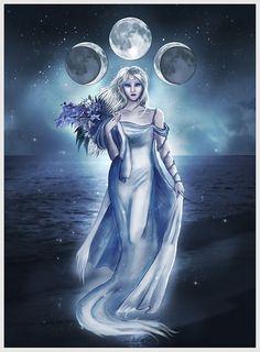 Linda Kindt  The Moon Goddess