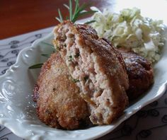 Traditional Silesian chops with the addition of salted herring