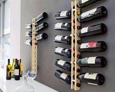 Contemporary Modern Wine Rack