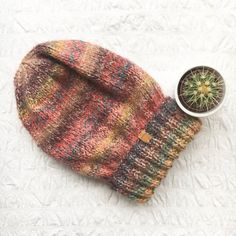 UNISEX Junkbox multi beanie slouchy urban by JunkboxCouture