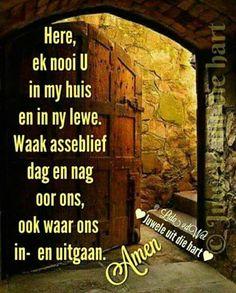 Afrikaanse Quotes, Goeie Nag, Angel Prayers, Goeie More, Inspirational Qoutes, Prayer Quotes, Morning Greeting, Godly Woman, Spiritual Inspiration