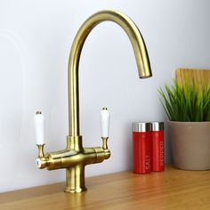 details about enki traditional victorian twin white lever kitchen sink mixer tap cologne - Kitchen Sink Tap Fittings