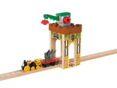 Thomas Wooden Railway Castle Crane Playset - Shop Thomas is Number One for Thomas the Tank Engine toys!