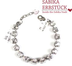 June 2014, The brilliance of this crystal Sabika Fun bracelet is found in the simplicity of the design. Released in the Spring & Summer 2006 Collection, it is the inspiration behind this season's Softer Side.