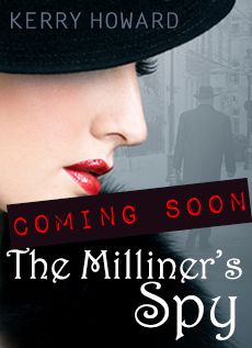 Sign up at www.milliners-spy.com to be the first to hear the release date