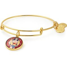 Wonder Woman Bangle Bracelet | ALEX AND ANI (1.845 RUB) ❤ liked on Polyvore featuring jewelry, bracelets, alex and ani jewelry, alex and ani, bracelets bangle, bangle jewelry and charm bangles