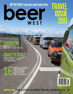 Beer West Magazine | Craft beer on the West Coast - think Sunset w/ beer.