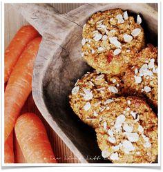 Gluten-, melke- og eggfrie muffins med rabarbra og gulrot - NAM!