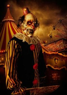 1000 Images About Halloween Creepy Clowns On Pinterest