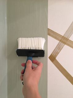 How To Hang Wallpaper, Wallpaper Paste, More Wallpaper, Home Projects, Interiors, Simple, Easy, Pattern, Interior