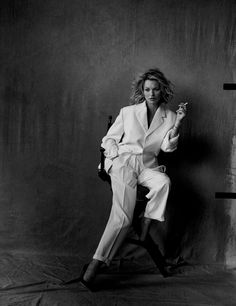 """Kate Moss in """"Natural Beauty"""" for Vogue Germany, May 2017 Photographed by Peter Lindbergh"""