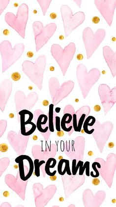 Free Colorful Smartphone Wallpaper - Believe in your dreams . Kostenlose bunte Smartphone Wallpaper - Glaube an deine . Cute Quotes, Happy Quotes, Words Quotes, Positive Quotes, Motivational Quotes, Inspirational Quotes, Sayings, Motivational Affirmations, Motivational Articles