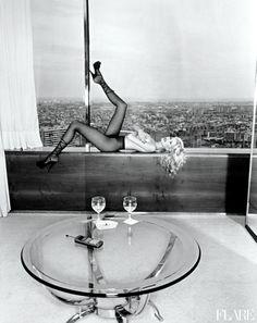 Claudia Schiffer - September 1996 / Photographer: Walter Chin