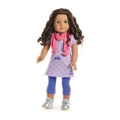 Doll Not Included American Girl Truly Me Seashore Stripe Skirt TM for 18 Dolls