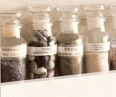 Vacation in a bottle? We love clever ways of preserving vacation memories.