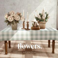 Опять хииии. Я приготовил кое-что, кроме стола, который вы можете найти здесь. Розы с большой задницей были сильно вдохновлены пионами Ars Botanica, которые вы можете найти здесь. Скачать