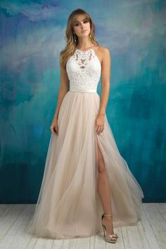 Shop wedding dresses and gowns by Allure Bridal at Something New Boutique in Colorado Springs, CO. Browse the Bridal 2018 collection online now! Wedding Dress Pictures, Wedding Dress Trends, Bridal Wedding Dresses, Bridal Style, Bridesmaid Dresses, Prom Dresses, Event Dresses, Flowy Dresses, Long Formal Gowns