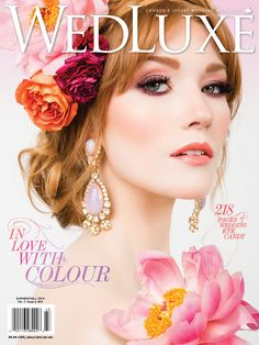 peony magazine covers | ... is featured in the Summer/Fall issue of Canada's WedLuxe magazine