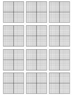 Blog Post with a freebie for printable 12 coordinate planes sheet