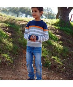 Cherokee Boys Light Wash Jeans - 5-6 Years.