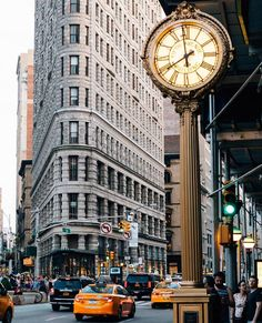New York One Dream Good Morning from New York City <3 #Flatironbuilding