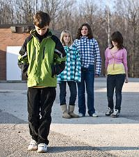Bullying: A big problem with big consequences.