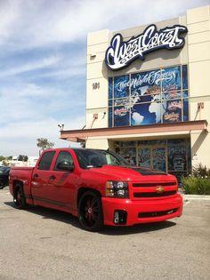 west coast custom Chevrolet Trucks, Chevrolet Silverado, Chevy Trucks, West Coast Customs, Lowered Trucks, Car Engine, Custom Trucks, Supercars, Cars Motorcycles