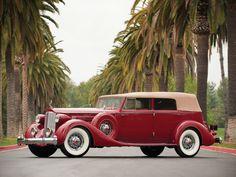 Packard Twelve Convertible Sedan by Dietrich (1208-873) '1935
