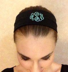 Monogram Headband