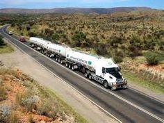 Australian Road Train Truck Driver