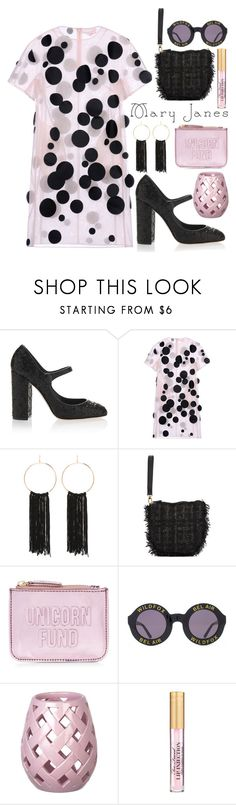"""Untitled #1051"" by meelstyle ❤ liked on Polyvore featuring Dolce&Gabbana, Paskal, Bebe, Simone Rocha, New Look and Wildfox"