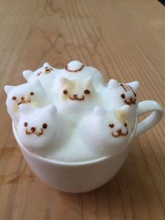 How many pussy cats would you like in your coffee? :)