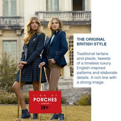 The Original British Style for Her Embrace Art. Live with Passion. New Collection Autumn.Winter 15/16 www.lionofporches.com